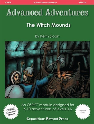 Advanced Adventures #26: The Witch Mounds