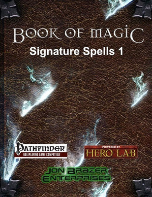 Book of Magic Signature Spells 1