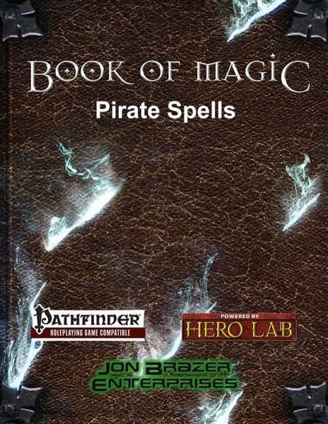 Book of Magic: Pirate Spells (PFRPG)