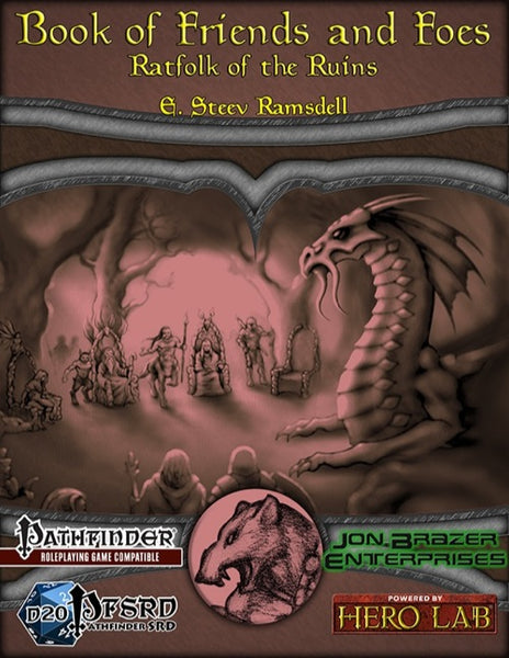 Book of Friends and Foes: Ratfolk of the Ruins (PFRPG)