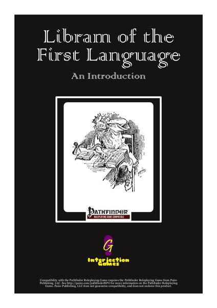 Libram of the First Language: Truename Magic Reborn FREE PREVIEW