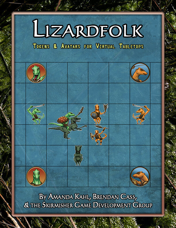 Lizardfolk: Tokens & Avatars for Virtual Tabletops