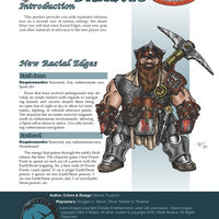 Player Races: Dwarves