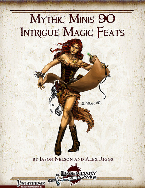 Mythic Minis 90: Intrigue Magic Feats