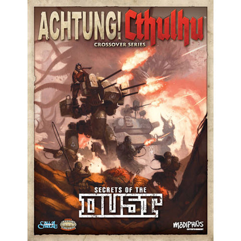 Achtung! Cthulhu RPG: Secrets of The Dust (Call of Cthulhu/Savage Words, Color)
