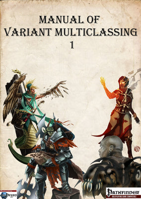 Manual of Variant Multiclassing 1