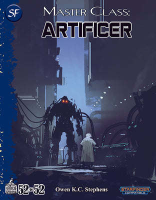 Week 09: Master Class: Artificer (SF)