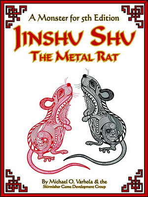 Jinshu Shu, the Metal Rat (A Monster for D&D 5E)