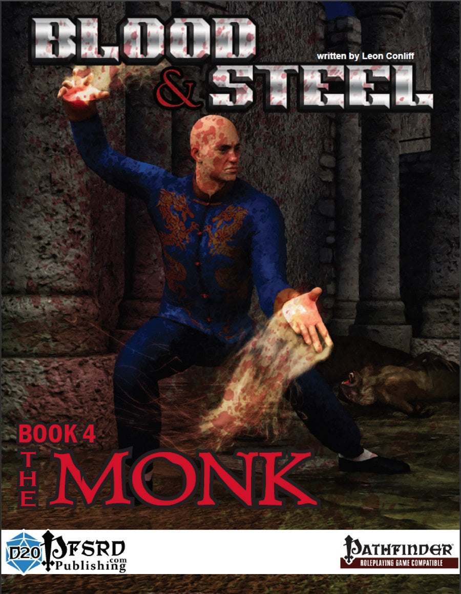 Blood & Steel, Book 4 - The Monk