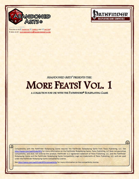 More Feats! Vol. 1