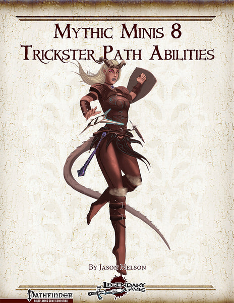 Mythic Minis 8: Trickster Path Abilities