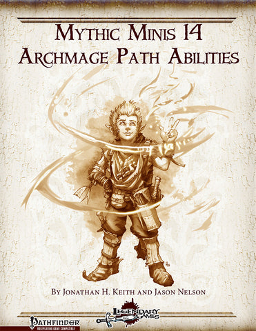 Mythic Minis 14: Archmage Path Abilities