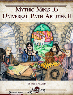 Mythic Minis 16: Universal Path Abilities II