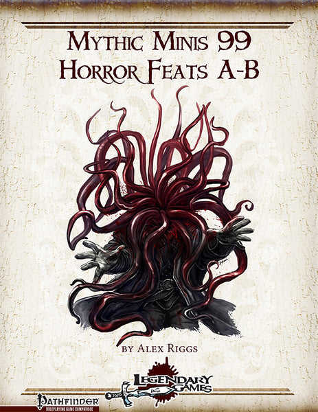 Mythic Minis 99: Horror Feats A-B