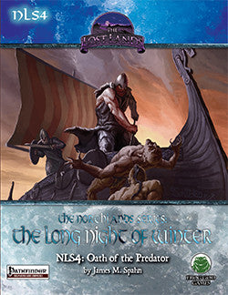 NLS4: Oath of the Predator (PFRPG)