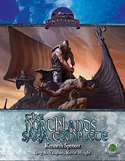 Lost Lands: The Northlands Saga Complete (Swords & Wizardry)