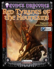 Codex Draconis: Red Tyrants of the Mountains