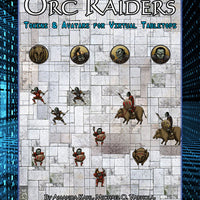 Orc Raiders: Tokens & Avatars for Virtual Tabletops