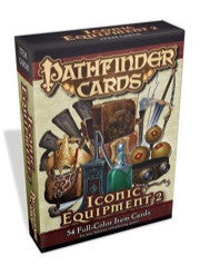 Pathfinder Cards: Iconic Equipment 2 Item Cards Deck