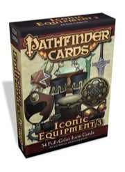 Iconic Equipment 3 Item Cards Deck (Pathfinder Cards)