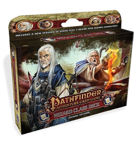 Wizard Class Deck (Pathfinder Adventure Card Game)