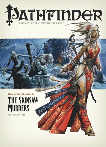 Pathfinder Adventure Path #2: The Skinsaw Murders (Rise of the Runelords 2 of 6; d20/OGL)
