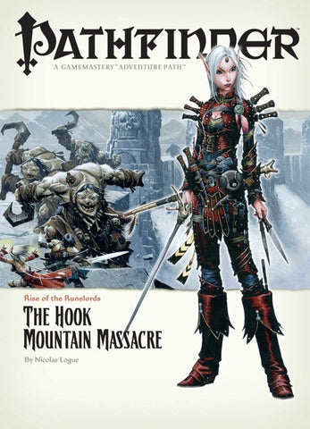 Pathfinder Adventure Path #3: The Hook Mountain Massacre (Rise of the Runelords 3 of 6; d20/OGL)