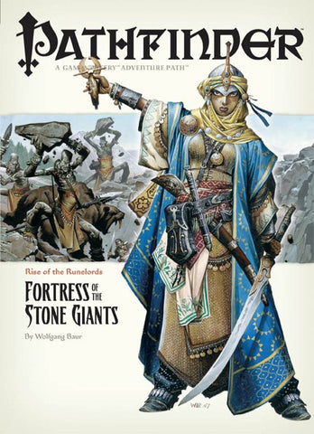Pathfinder Adventure Path #4: Fortress of the Stone Giants (Rise of the Runelords 4 of 6; d20/OGL)