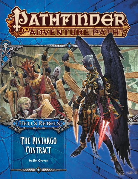 "Pathfinder Adventure Path #101: Hell's Rebels Part 5 of 6 ""The Kintargo Contract"""