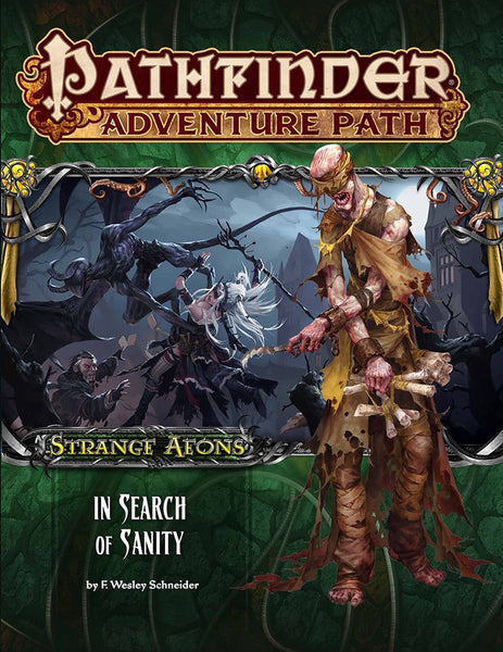 "Pathfinder Adventure Path #109: Strange Aeons 1 of 6 ""In Search of Sanity"""