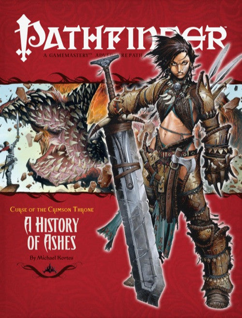 Pathfinder Adventure Path #10: A History of Ashes (Curse of the Crimson Throne 4 of 6; d20/OGL)