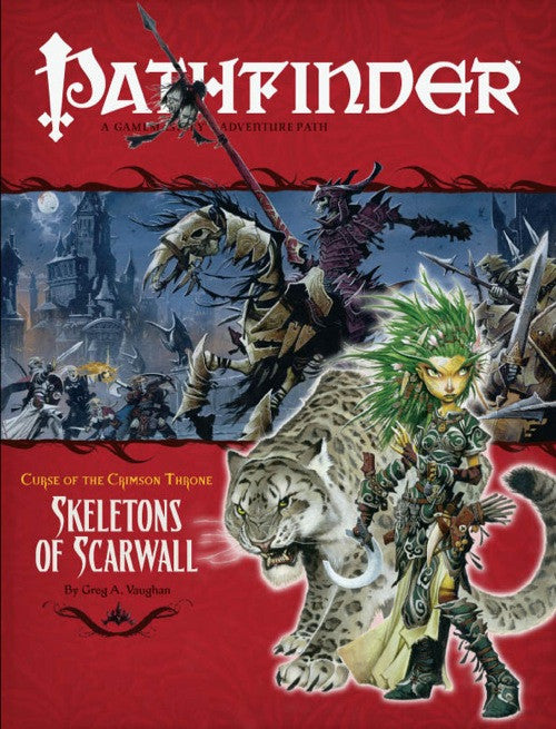 Pathfinder Adventure Path #11: Skeletons of Scarwall (Curse of the Crimson Throne 5 of 6; d20/OGL)