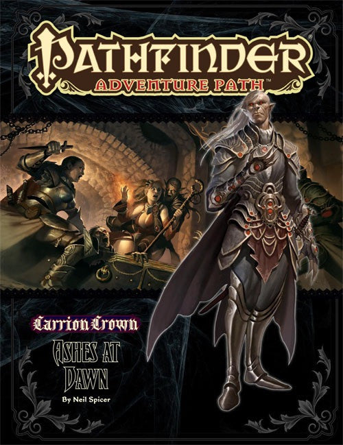 Pathfinder Adventure Path #47: Ashes at Dawn (Carrion Crown 5 of 6; PFRPG)