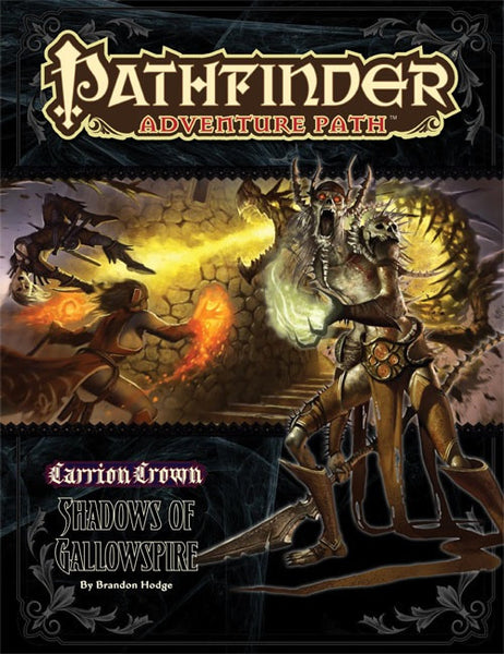 Pathfinder Adventure Path #48: Shadows of Gallowspire (Carrion Crown 6 of 6; PFRPG)
