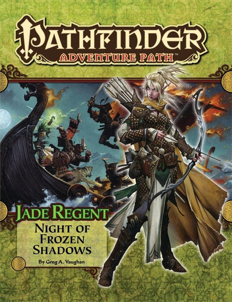 Pathfinder Adventure Path #50: Night of Frozen Shadows (Jade Regent 2 of 6; PFRPG)