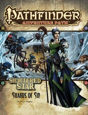 "Pathfinder Adventure Path #61: Shattered Star Part 1 of 6 ""Shards of Sin"""