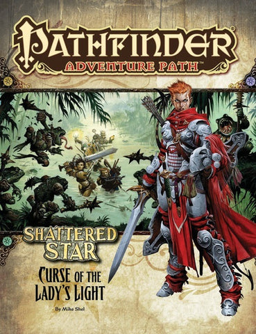 Pathfinder Adventure Path #62: Curse of the Lady's Light (Shattered Star 2 of 6; PFRPG)