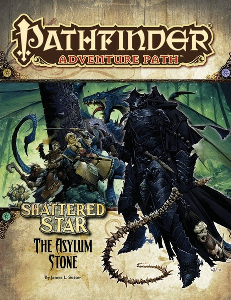 Pathfinder Adventure Path #63: The Asylum Stone (Shattered Star 3 of 6; PFRPG)