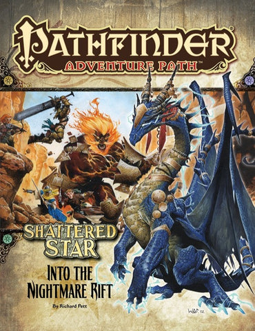 Pathfinder Adventure Path #65: Into the Nightmare Rift (Shattered Star 5 of 6; PFRPG)