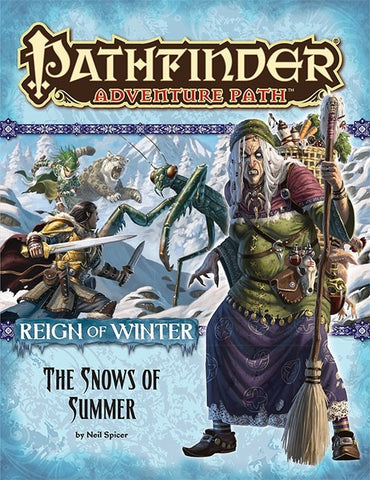 Pathfinder Adventure Path #67: The Snows of Summer (Reign of Winter 1 of 6; PFRPG)