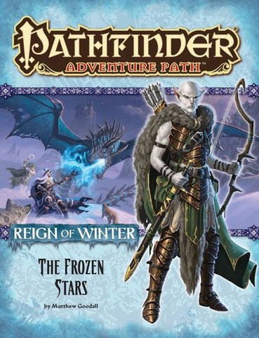 Pathfinder Adventure Path #70: The Frozen Stars (Reign of Winter 4 of 6; PFRPG)