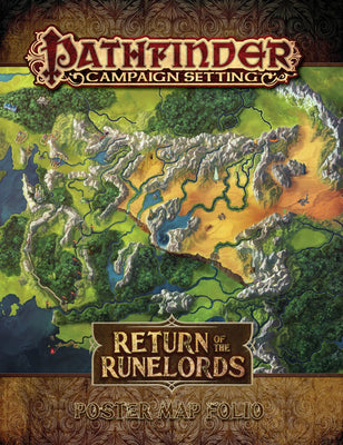 Pathfinder RPG: (Campaign Setting) Return of the Runelords Poster Map Folio