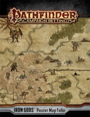 Iron Gods Poster Map Folio (Pathfinder Campaign Setting)