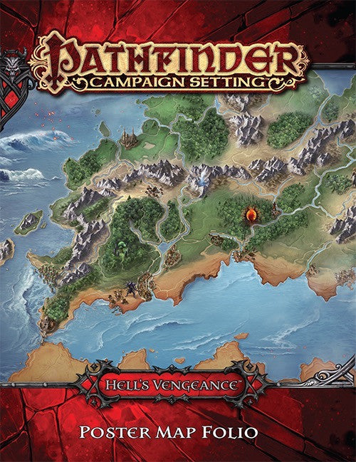 Hell's Vengeance Poster Map Folio (Pathfinder Adventure Path)
