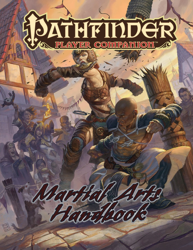 Pathfinder Player Companion:  Martial Arts Handbook