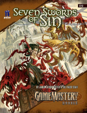 GameMastery Module D2: Seven Swords of Sin (OGL)