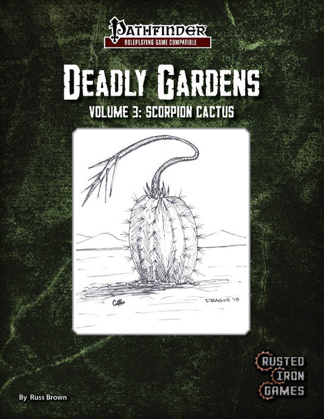 Deadly Gardens Volume 3: Scorpion Cactus