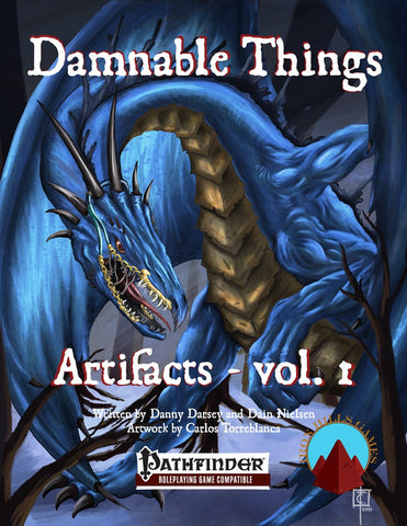 Damnable Things: Artifacts Vol. 1