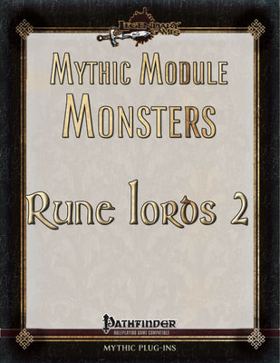 Mythic Module Monsters: Rune Lords 2
