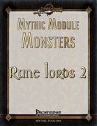 Mythic Module Monsters: Rune Lords 3